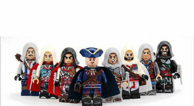 Assassin creed Lego 8pcs