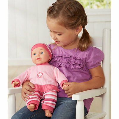 """You & Me 14"""" Talking Baby Doll - Girl, Childrens Baby Doll, Only at Toys R Us"""