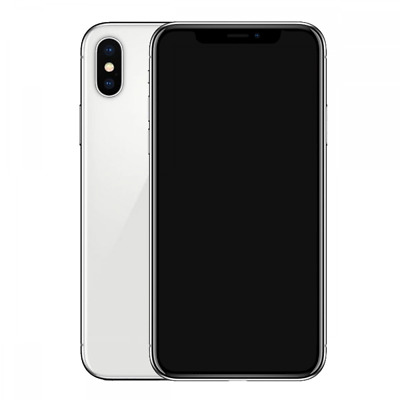 Dummy Display Phone Model Non-working Replica Phone for iPhone X Silver
