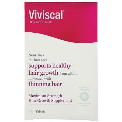 ツ Viviscal Maximum Strength Hair Growth Supplement For Women 60 Tablets