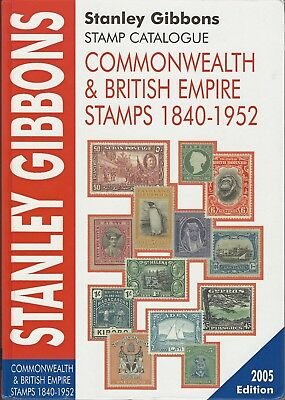 Stanley Gibbons Commonwealth & British Empire Stamp Catalogue 1840-1952 As New