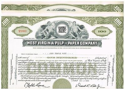 Wholesale-Lot 19 West Virginia Pulp and Paper Co., 1950-60s, rarer olive type