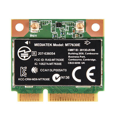 For Intel MT7630E 2.4G Wireless-AC 150Mbps BT4.0 PCI-E Half Mini Wifi Card