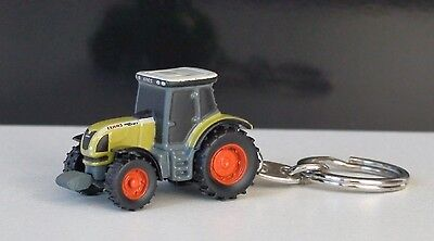 Claas Ares 657 Atz Tractor Keyring Diecast New