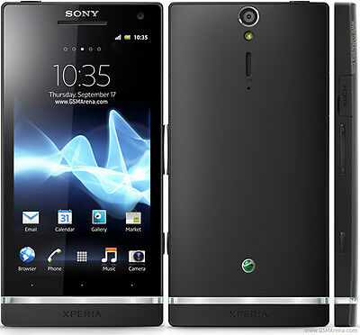 New Sony Xperia S LT26i - 32GB - Black (Unlocked) Android Smartphone GSM 12MP
