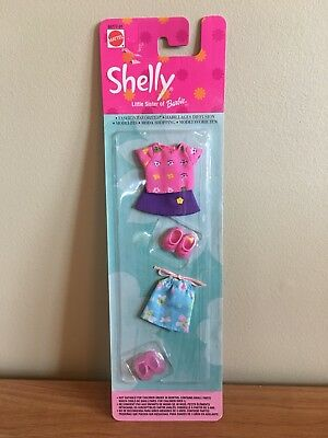 Mattel Shelly Barbie Outfit Fashion Favorites Shelly Little Sister Of Barbie NIB
