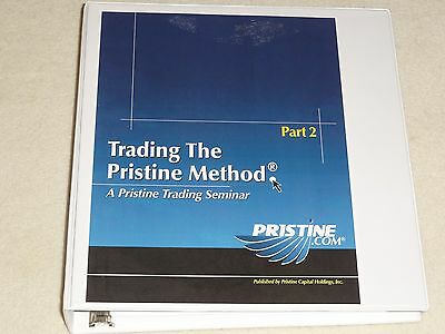 Trading the Pristine Method TPM Part 2 Oliver Velez Pristine.com Greg Capra etf