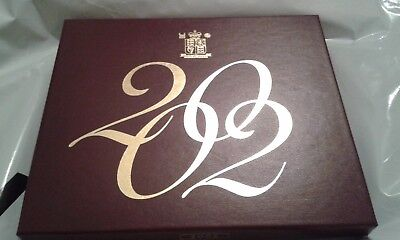 2002 Great Britain GB UK Annual Coin Set 9 Coins Royal Mint Uncirculated