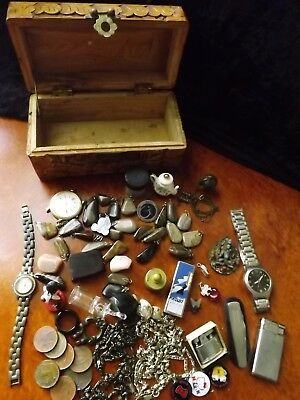 Collection of Antique/Vintage & New Treasure from Grandpas Draw Bulk Lot 1.5 +Kg