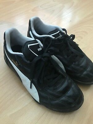 Puma Trainers size 1, good cond. selling as son grew out of them too quick!