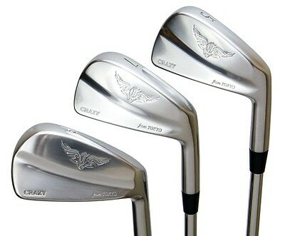 NEW MODEL CRAZY JAPAN CRZ MUSCLE IRON Forged Iron head only 3-PW 8pc