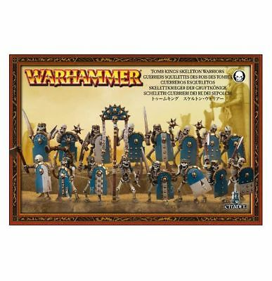 Warhammer Tomb kings skeleton warriors Factory sealed new