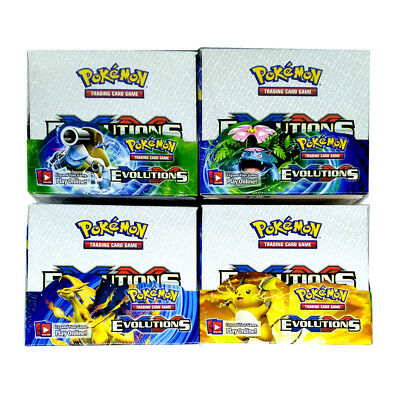POKEMON TCG XY-12 EVOLUTIONS BOOSTER SEALED BOX ENGLISH 36 PACKS Copy Cards