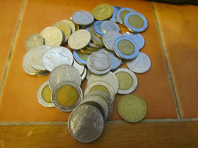 Italy Coin Collection fifty Coins