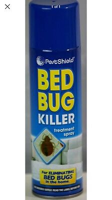 New Bed Bug Killer Treatment Spray Eliminating Bed Bugs/ Fleas Around The Home