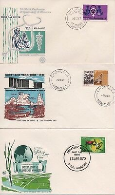 AU - EARLY DECIMAL - First Day Covers in excellent condition going back to 1967