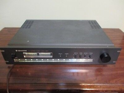 Kenwood  L-07T Stereo  Fm Tuner Excellent