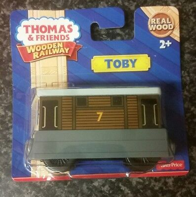 Fisher Price Thomas & Friends Wooden Railway - Toby! Sealed