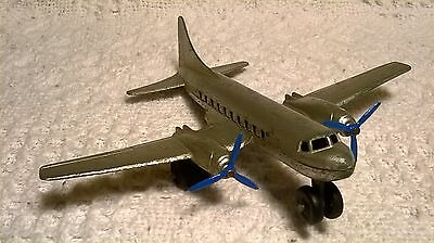 Vintage Tootsietoy Twin Motor Airplane !