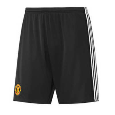 Adults M Manchester United Home Change Shorts 2017-18 - No. 6 M193