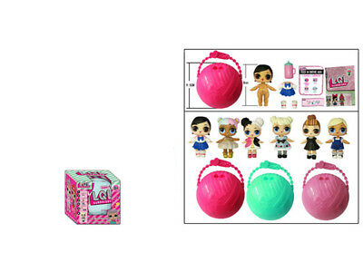 1X LOL Lil Outrageous 7 CM Surprise Ball Series Doll Blind Mystery Xmas Toy
