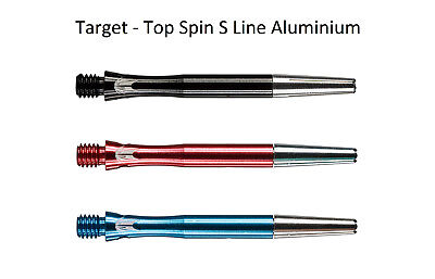 Target Shafts - Top Spin S Line Shaft Schaft Aluminium Short Intermediate Medium