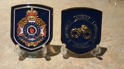 Qld Police Challenge coins