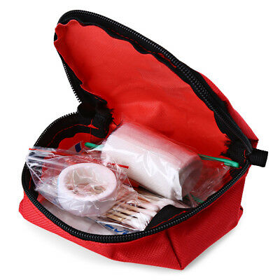 Outdoor Hiking Camping Survival Travel Emergency First Aid Kit Rescue Mini Bag