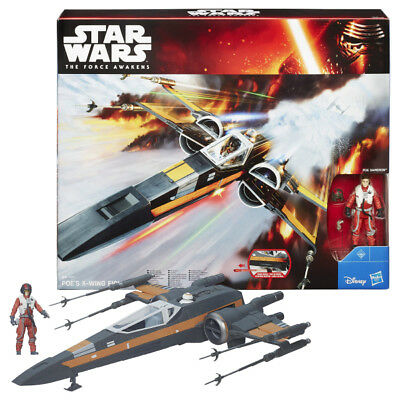 Star Wars E7 Class III Vehicles - Class - Poe Damerons X-Wing Fighter