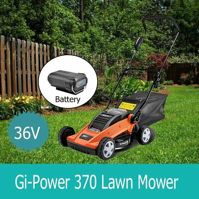 Giantz Lawn Mower Cordless Lawnmower Lithium Battery Powered Electric Garden 35L