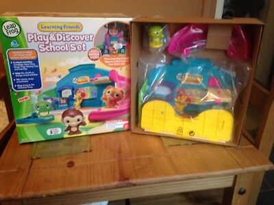 Leapfrog Learning Friends Play And Discover School Set