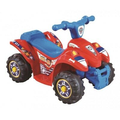 PAW PATROL™ 6V Electric Quad Bike Rechargeable Kids Child Ride On Toy Car -RYDER