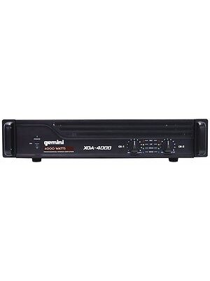 Gemini XGA-4000 Power Amplifier 4000W DJ Disco
