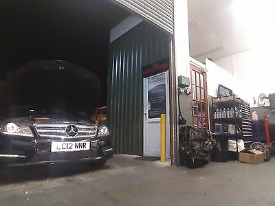 Mercedes C350Cdi Engine Supplied And Fitted Reconditioned 2009-2015 From £2695