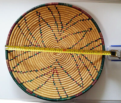 Vintage Aboriginal basket - very large hand woven piece