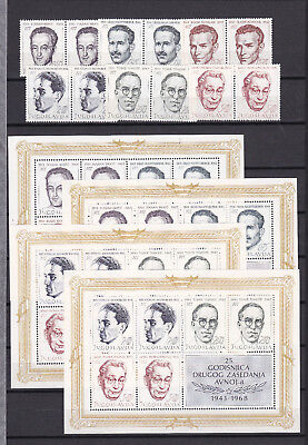 Yugoslavia  - 1968 - block collection on page  - MNH - 70 Euro  !!