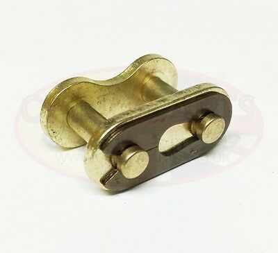 428H Motorcycle Drive Chain Split Link Gold for Dafier DFE125-8A