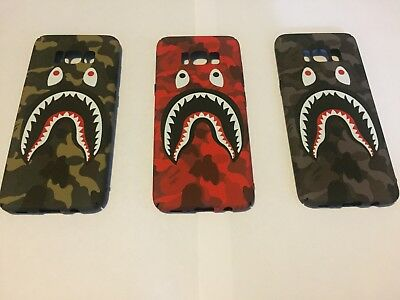 Bathing Ape Bape Phone Case Cover Fits Samsung Galaxy s7 s8 s7 edge s8 plus note