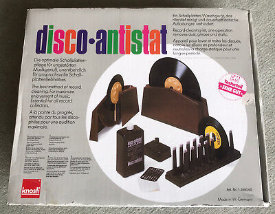 Knosti Disco Antistat Vinyl Record Cleaning Machine Cleaner Kit