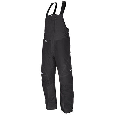 Klim Klimate Men's Short Black Bib Snow Pants 2XLarge 3178-004-360-000