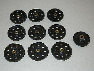 Vintage Meccano Contrate Wheels And Gear Wheels
