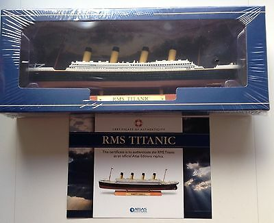 ATLAS EDITIONS - RMS TITANIC - 7572001 - 2017 - NEW- MINT!!. - SEALED With CoA
