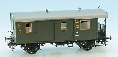 KM1 1 Gauge DRG Local Train Car Set with luggage car DB NEM for Märklin Kiss