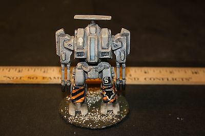 28mm SCIFI Miniature DREADNOUGHT Fighting Machine  Plastic, Painted & USED