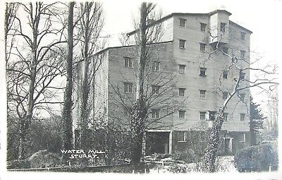 The Water Mill Sturry Kent 1933 Rp Pc