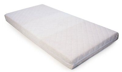 Baby Toddler Pocket Spring Mattress Quilted Cot Bed Mattress 120 X 60 X 13 Cm
