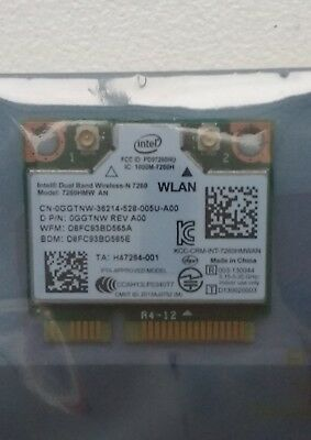 INTEL Dual Band Wireless-N 7260 HMW AN ( Brand New Sealed Unpacked Genuine )