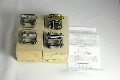 2 Sets O Scale Wagner Car Company Trucks 7830AA and 39E in Original Boxes