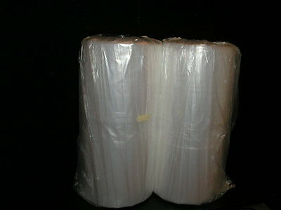 "Lot of 2 Rolls 110 bags Per Roll 26""x40"" Dry Clean Garment Bags"
