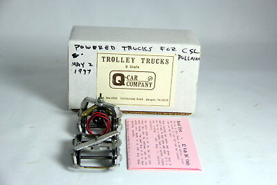 O Scale Q Car Company Powered Truck with Trailer Type PB - 150 Pullman